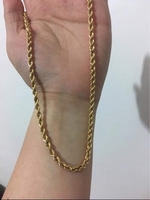 Used Gold Chain Necklace in Dubai, UAE