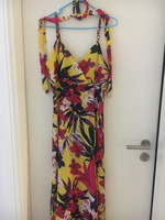 Used Flower dress (yellow and red) in Dubai, UAE