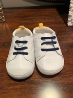 Used Carters baby boy soft shoes in Dubai, UAE