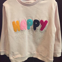 Zara sweatshirt in light pink.