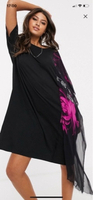 Used Black Dress with scarf by diesel  in Dubai, UAE