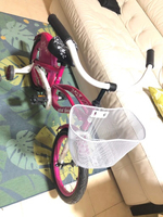 Used Pink Bicycle and 2 pcs IKEA Kid's desks  in Dubai, UAE