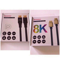 Used Audio cable (HDMI +display port cable) in Dubai, UAE