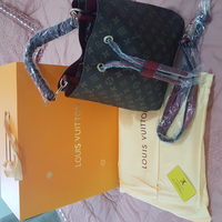 Used LV Bucket Monogram Red in Dubai, UAE
