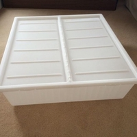 Used Leopard bag and Under-bed storage box in Dubai, UAE