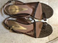 Used Emporio Armani sandals.  Size 39 in Dubai, UAE