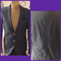 Used Scotch and Soda Blue Suit/S/46 in Dubai, UAE