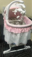 Used Pink giggle cot baby shop  in Dubai, UAE