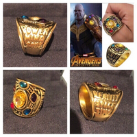 Used Infinity War Thanos Ring Avengers size 6 in Dubai, UAE