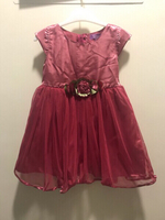 Used SLARA Girl Dress 2 to 3 years Red in Dubai, UAE