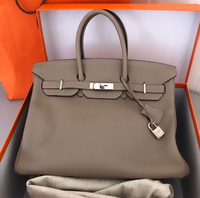 Used Authentic Hermes Birkin 35 in Gris T PHW in Dubai, UAE