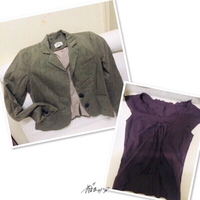 Used Blazer with FREE Blouse -Small ❤️ in Dubai, UAE