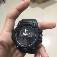 Smael watch with metal box water proof