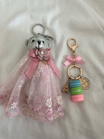 Used Bundle of 2 bag charms in Dubai, UAE