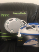 Used Htc personal scale&Cyber dry iron in Dubai, UAE