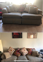 Used 3 seaters and 2 seaters couches for 800  in Dubai, UAE
