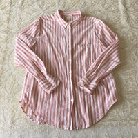 Used H&M pinstriped shirt (size 38EU) in Dubai, UAE