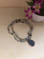 Used NEW Ocean Teardrop Necklace +🎁 in Dubai, UAE