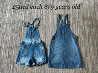 Used Denim items for a girl 8/9 years old  in Dubai, UAE