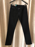 Used Japan RAGS denim slim fit size 30 black in Dubai, UAE
