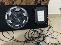 Used Pioneer car subwoofer in Dubai, UAE