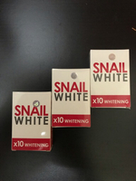 Used Snail White 10xWhitening Soap Set of 3pc in Dubai, UAE