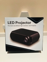 Used LED a projector new black in Dubai, UAE