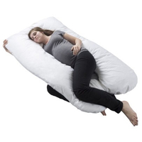 Used Pregnancy pillow Pink NEW in Dubai, UAE