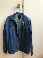 Used Jean jacket, small  in Dubai, UAE