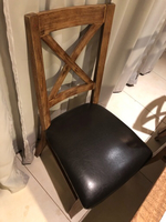 Used 2 matching chairs real leather in Dubai, UAE
