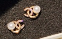 Used Plated gold earring New in Dubai, UAE