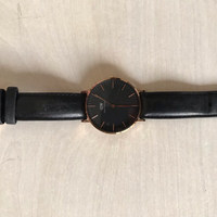 Used Daniel Wellington watch black+rose gold in Dubai, UAE