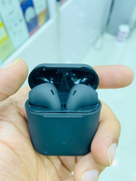 Used Airpods 2 black matte with H1 chip inpod in Dubai, UAE