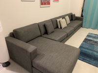 Used 5 Seater L-Shape Sofa in Dubai, UAE
