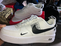 Used Brand New Nike Airforce 1 White 42 in Dubai, UAE