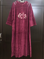 Used Velvet Jalabiya4 in Dubai, UAE