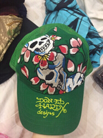 Used Ed hardy cap top metal button missing  in Dubai, UAE