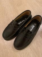 Used Black leather classic shoes - Brand new in Dubai, UAE