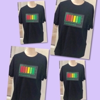 Used 4 LED Voice Activated TShirts/ Sizes👇🏻 in Dubai, UAE