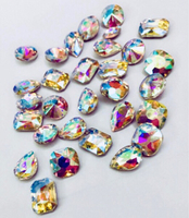 Used NEW Clear Pointed Back Rhinestones in Dubai, UAE