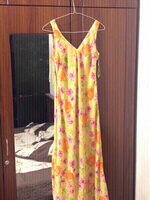 Used New KAY UNGER chiffon dress+free gift🎁 in Dubai, UAE