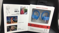 Used Sports wireless earphones blue  in Dubai, UAE