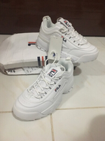 Used Original Fila sneakers size 38 in Dubai, UAE
