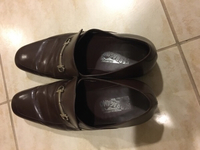 Used Gerragamo shoes in Dubai, UAE