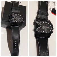Used OULM watch black new in Dubai, UAE