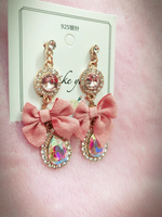 Used Elegant bow earrings  in Dubai, UAE