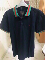 Used Gucci inspired Polo Shirt Large Unisex❤️ in Dubai, UAE