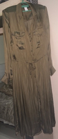 Used H&M khaki green shirt dress NEW! in Dubai, UAE