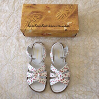 Used cherry print Saltwater Sandals (size 38) in Dubai, UAE