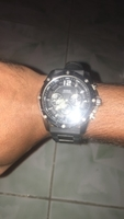 Used Guess for men black dial silicone band in Dubai, UAE